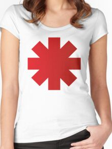 Red Hot Chilli Peppers RHCP Women's Fitted Scoop T-Shirt