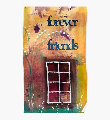Through The Windowpanes of Friendship Poster
