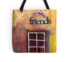 Through The Windowpanes of Friendship Tote Bag