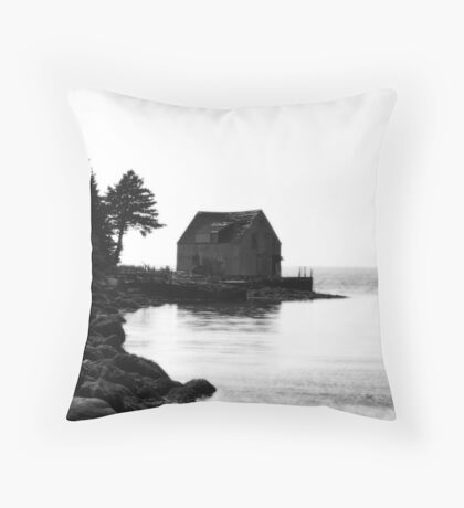 Hazy Glow Throw Pillow