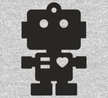 Robot - Simple Black by XOOXOO