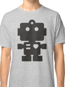 Robot - Simple Black Classic T-Shirt