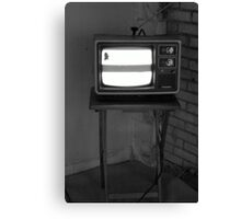 TV Set Canvas Print