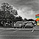 The Dixie Drive-In - Greenwood, SC by Randall Faulkner