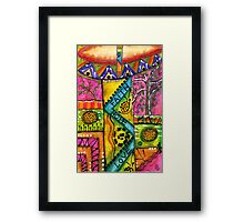Drum Land Framed Print