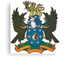 BBC Coat of Arms Canvas Print