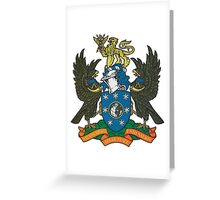 BBC Coat of Arms Greeting Card