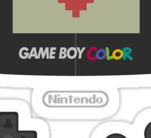 GAME BOY COLOR <3 Sticker