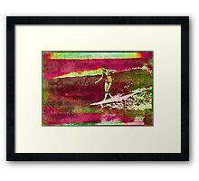 Venice Beach Color Wheel Framed Print