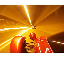 """Tunnel Run"" - the road to Austria Photographic Print"
