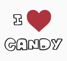 I Heart Candy Kids Clothes