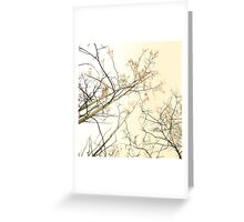 forest tapestry Greeting Card