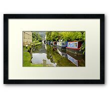 The Rochdale Canal Framed Print