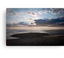 Just another Plum Island sunrise Canvas Print