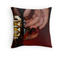 Fingerplay Throw Pillow