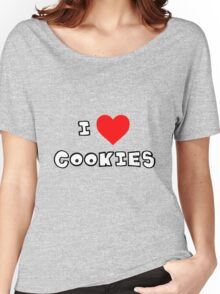 I Heart Cookies Women's Relaxed Fit T-Shirt