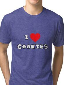 I Heart Cookies Tri-blend T-Shirt
