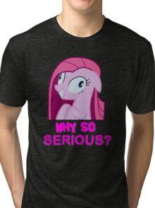 Why so Pinkie? Tri-blend T-Shirt