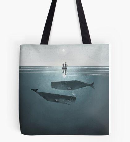 At sea. Tote Bag