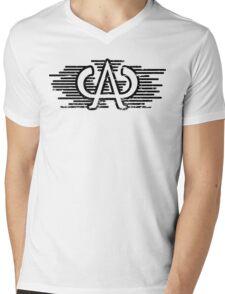 Authority (Distressed) Mens V-Neck T-Shirt