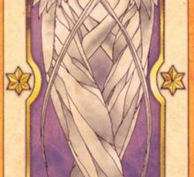 "Clow card ""The Wind"" Sticker"