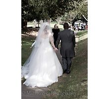 Walking away Photographic Print