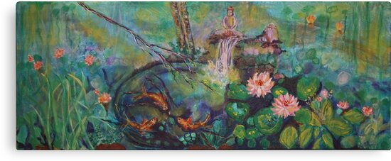 ODE TO THE WATERLILLY POND by eoconnor