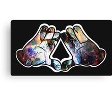 Mickey Illuminaty - Michey Swag Canvas Print
