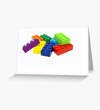 Building blocks. Greeting Card