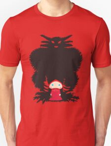 Little Red and Big Wolf Unisex T-Shirt