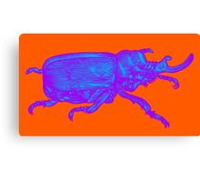 Psychedelic Beetle Canvas Print