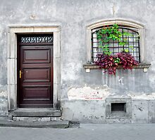 Simple old house facade. by FER737NG