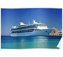 Cruise ship. Poster