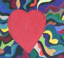 Heart Strings Sticker