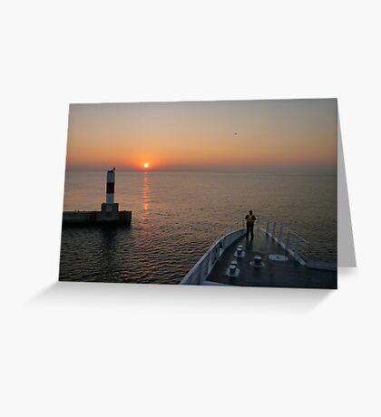 Michigan Greeting Card