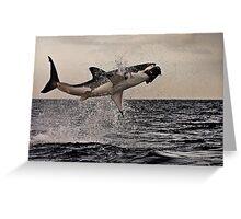 Air Jaws Greeting Card