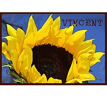 Artist Series/Ode to Vincent Photographic Print