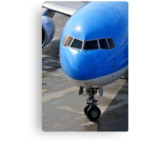 Passenger airplane. Canvas Print
