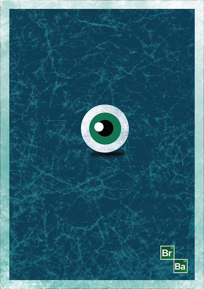 Breaking Bad Minimalist Poster  by KirbyDesigns