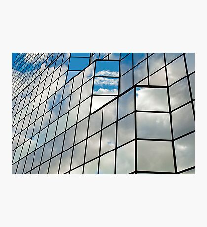Glass office building. Photographic Print