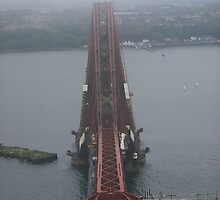 View from the top of the Forth Bridge by weecritter