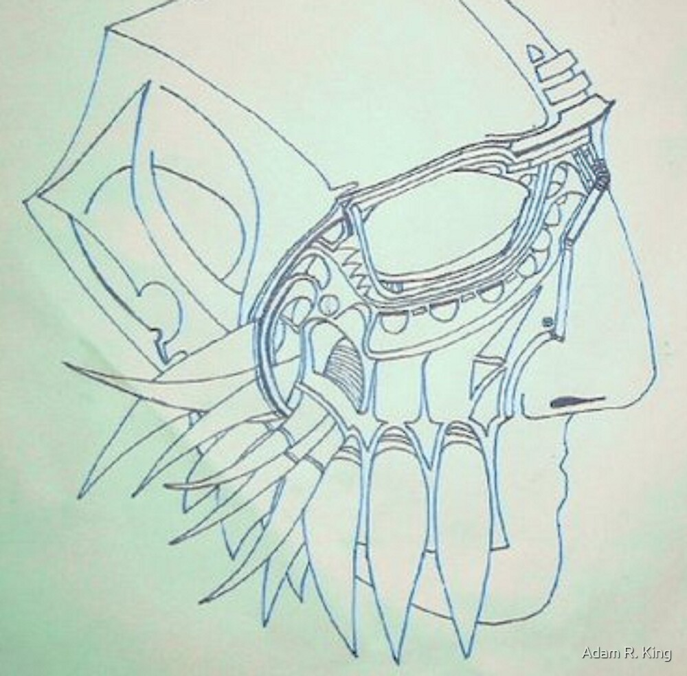 Mask of Existentialism by Adam R. King