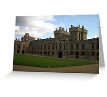 Windsor Castle, South Wing Greeting Card