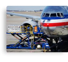 Air transportation. Canvas Print