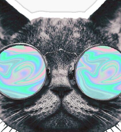 Cat Eye Hologram Sticker