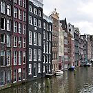 Amsterdam buildings and canal. by FER737NG