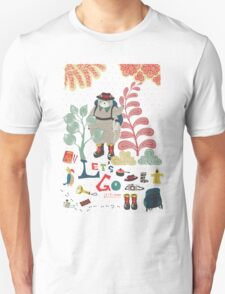 Bear Travel - Let's Go Unisex T-Shirt