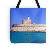 Fort Saint Nicholas, Rhodes, Greece. Tote Bag