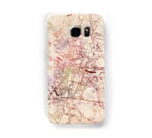 Poznan map watercolor painting Samsung Galaxy Case/Skin