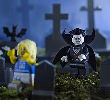 Lego Vampire  by Kevin  Poulton - aka 'Sad Old Biker'